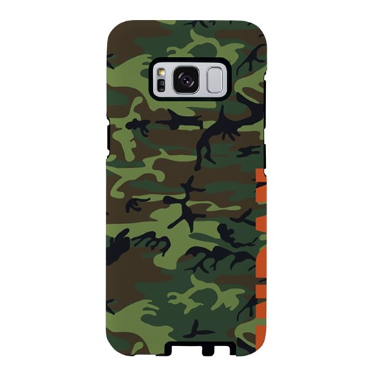 Camo Orange Personalized